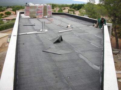 Notre maison moderne 13 l 39 tancheit des toitures - Pare vapeur toiture terrasse ...