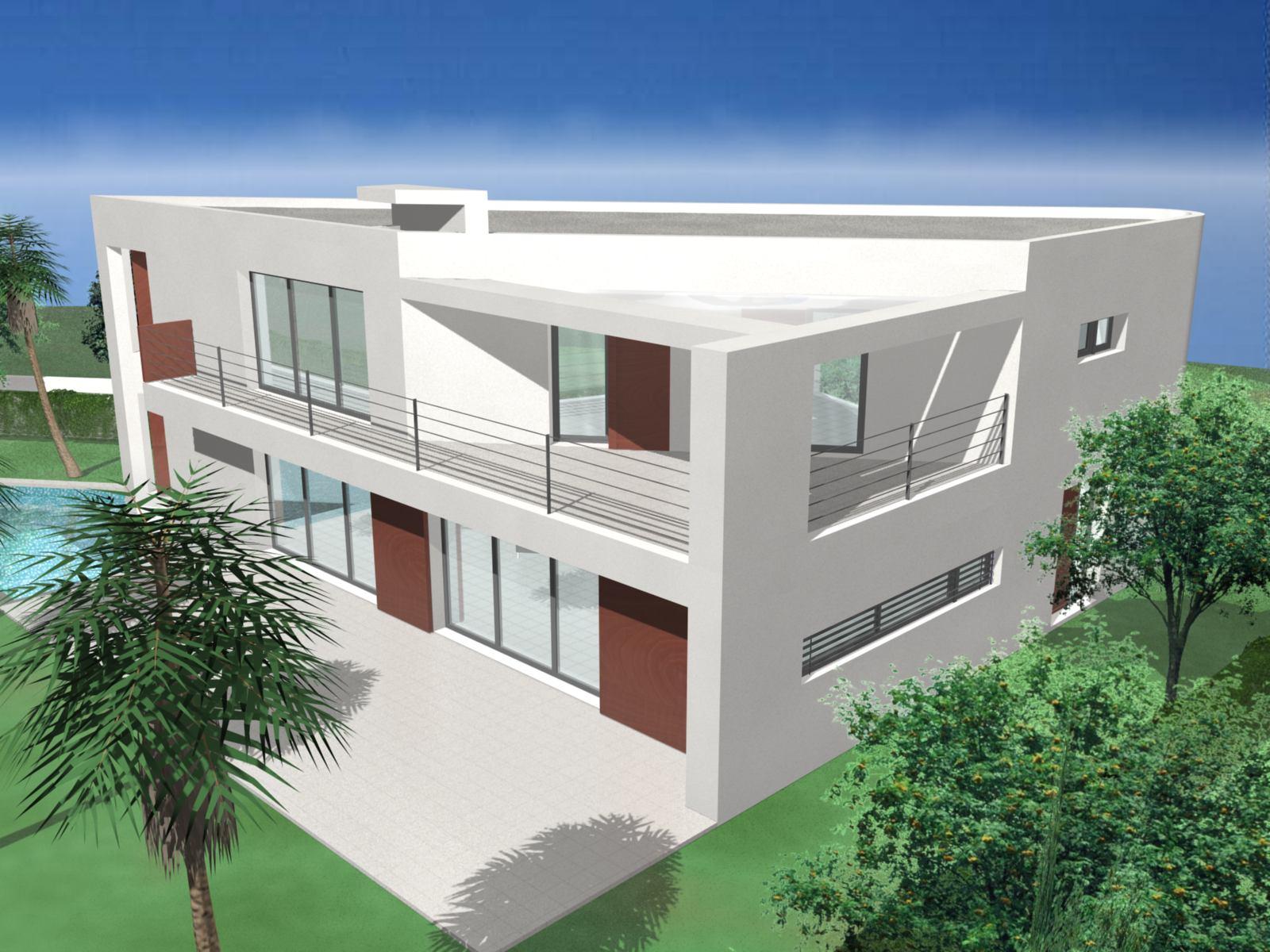 Notre maison moderne le projet for Projet maison moderne
