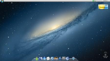 Estilo visual MAC OS X Lion - Para Windows 7 Mac1