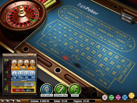Zasady gry w roulette
