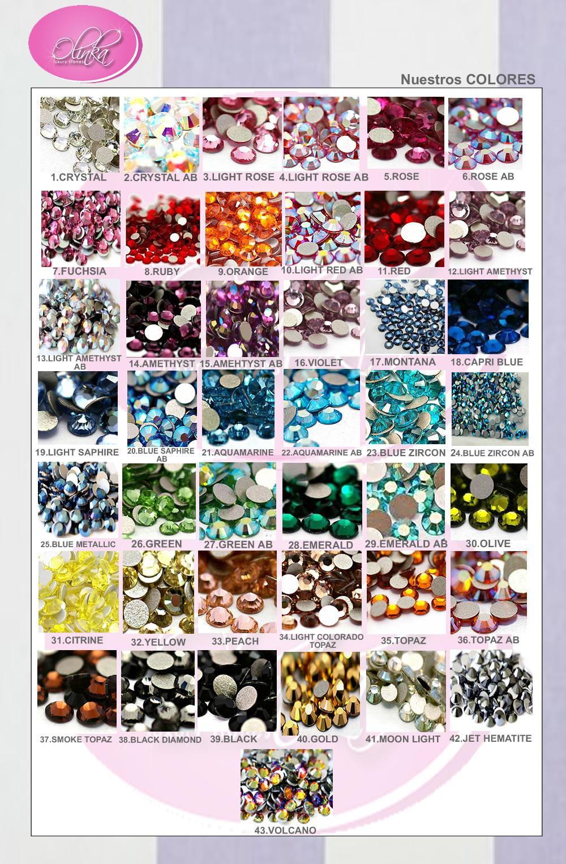 600piedras de cristal tipo swarovski para u as o for Cristales swarovski para decorar unas