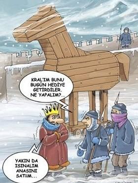 Eğlenceli =) - karikatürler - truva