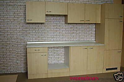 Küche in Birke ohne E-Geräte - paderkuechens jimdo page!
