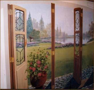 Murales decorativos bienvenido for Murales decorativos paisajes