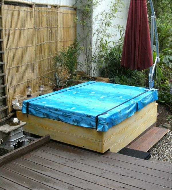 So habe ich den pool gebaut deanworks for Aufstellpool verkleiden