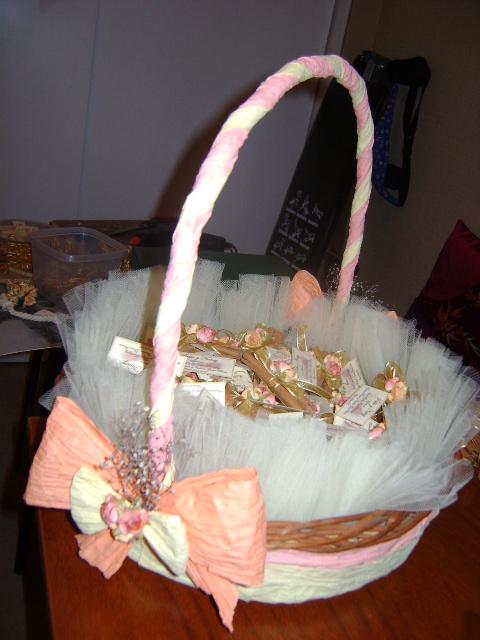 Recuerditos de canasta para boda - Imagui