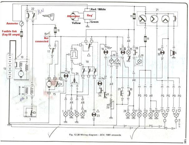 citroen cv wiring diagram diagrams  citroen  auto wiring