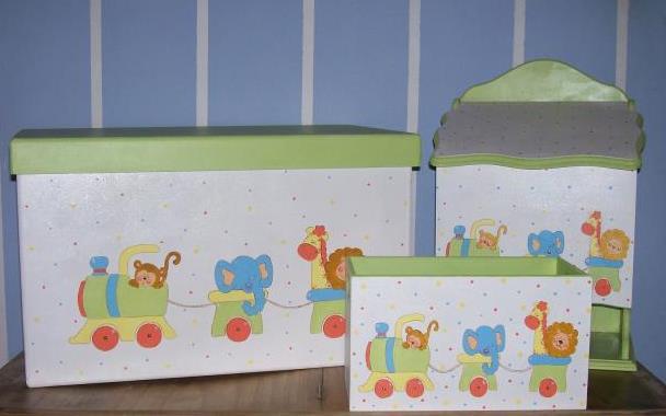 El regalo perfecto - Cajas de madera para guardar juguetes ...