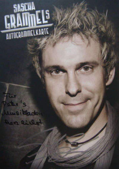 mein musikladen autogramme f r peter 39 s musikladen 2011. Black Bedroom Furniture Sets. Home Design Ideas