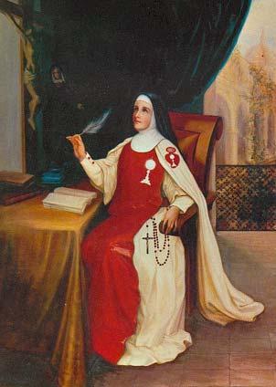 El santo de hoy...María Magdalena de la Encarnación, Beata Catalinasordini