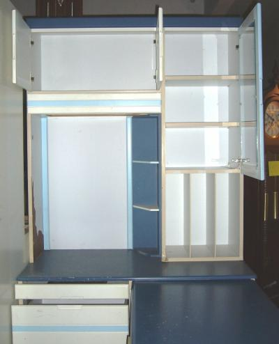 Pick and choose shop wardrobe built in with attached for Built in study table