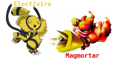 Pokemon Magmortar Vs Electivire Images | Pokemon Images