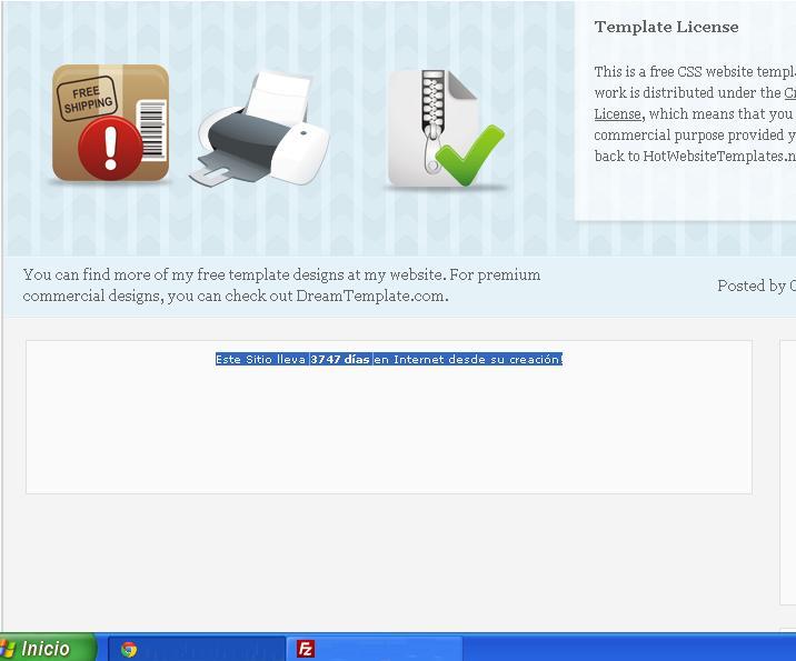 Tu web, cuantos dias ah estado en linia  Vistaprevia5