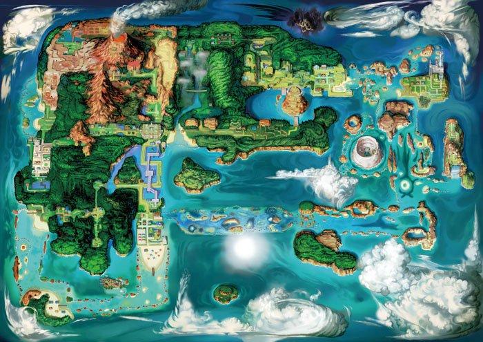 [Discusión General] Pokémon Rubí Omega & Zafiro Alfa - Página 2 Hoennmap