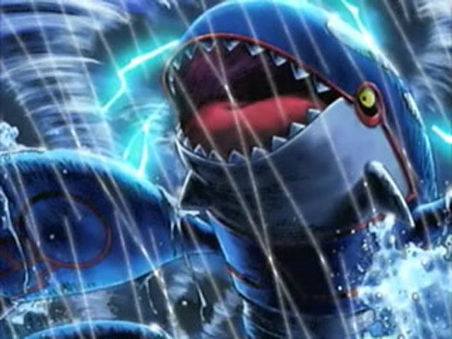 Kyogre unleashes the storm onto death battle by brave king shishio on
