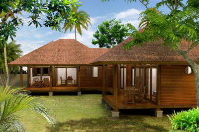 Tropical style de vie maison en kits french polynesia for Plan maison tropicale gratuit