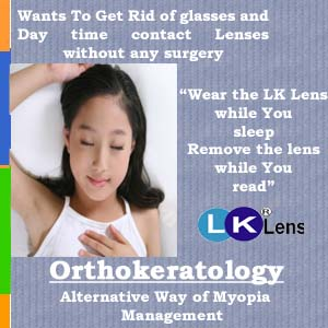 how to clean ortho k contact lenses
