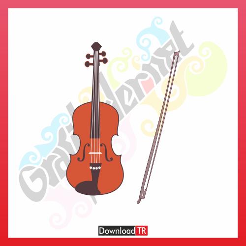 Violin Vektör