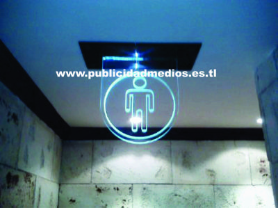 Medios publicidad corporeas letras en acrilico - Fabricacion letras corporeas ...