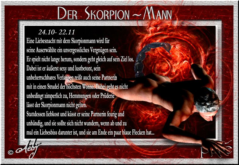 Skorpion Frau Und Waage Mann