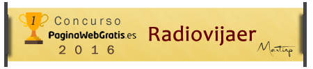 RadioVijaer ganador del concurso web