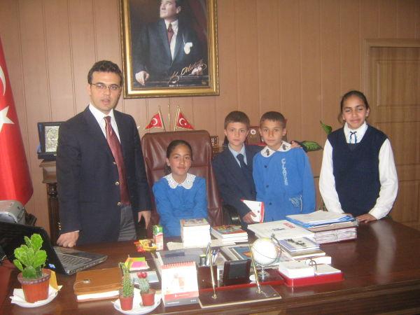 Kağızman'da 23 Nisan Etkinlikleri Büyük Coşkuyla Kutlandı.