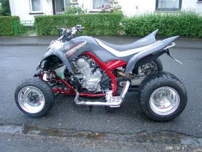 Yamaha Raptor Modded