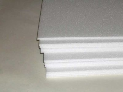 Thin styrofoam sheets