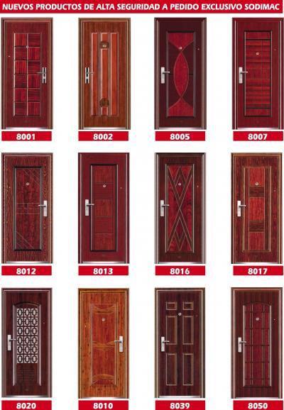 Comercial r d ltda catalogo de puertas de seguridad for Catalogo de puertas