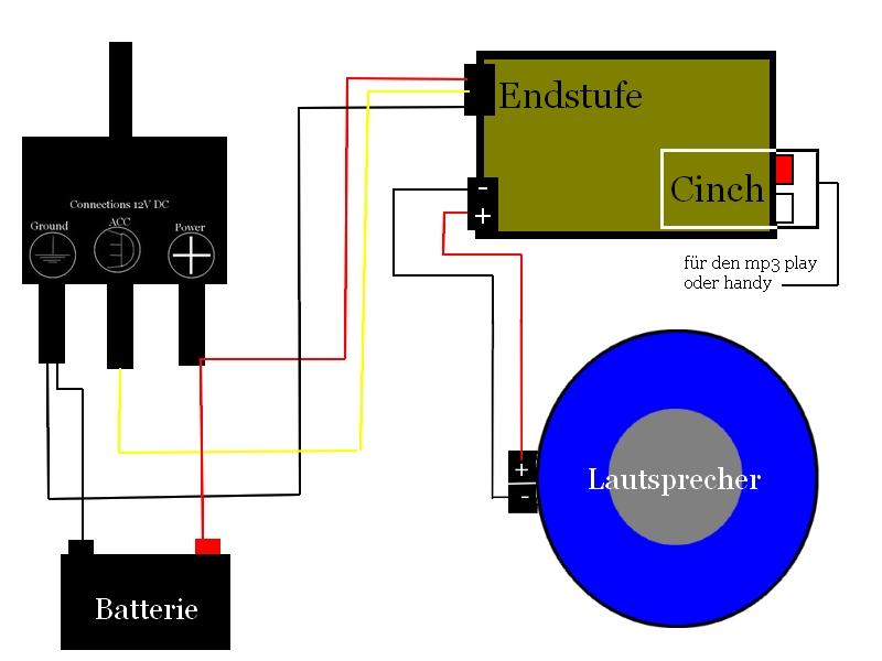 Schaltplan für eine HFA (Helmfachanlage) - Elektrik ...