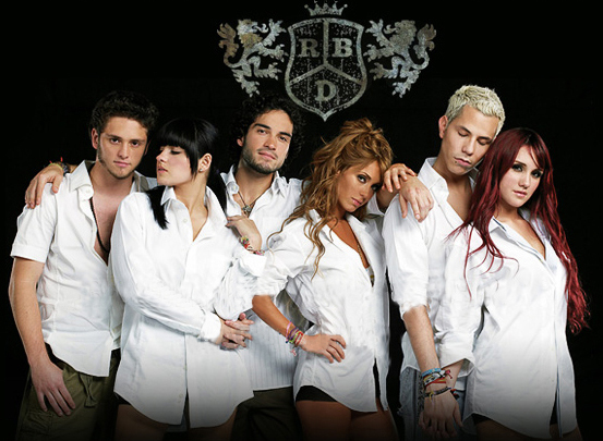 fans club oficial rbd chile: