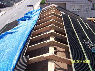 Reformas beltran telefono 664 256 806 obras de tejados for Tejados de madera modernos