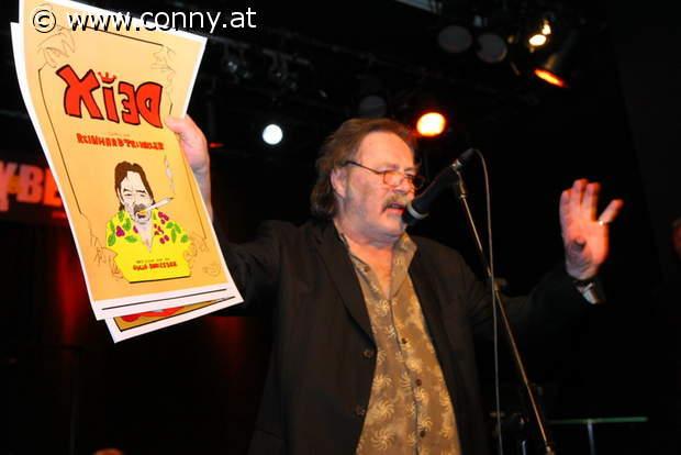 Manfred Deix / Österreichischer Kabarettpreis 2012 / Comic von Reinhard Trinkler