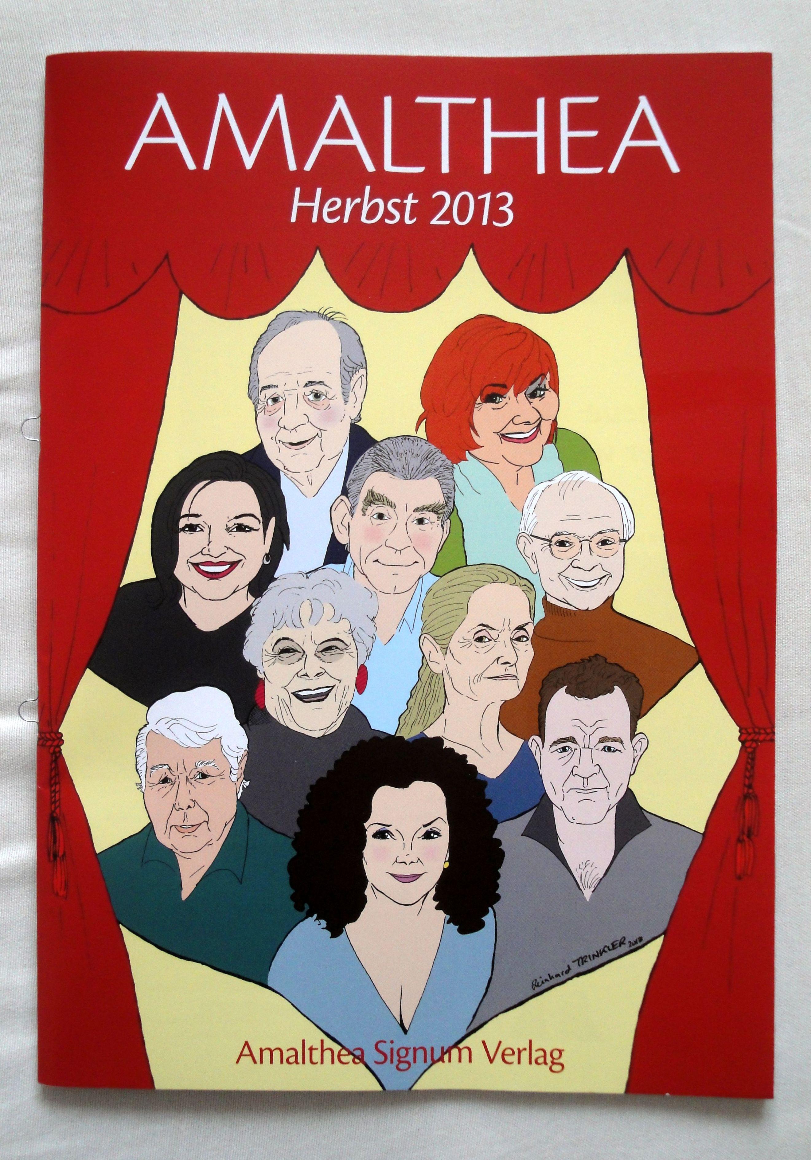 AMALTHEA Herbstkatalog 2013 / Umschlagabbildung: Reinhard Trinkler