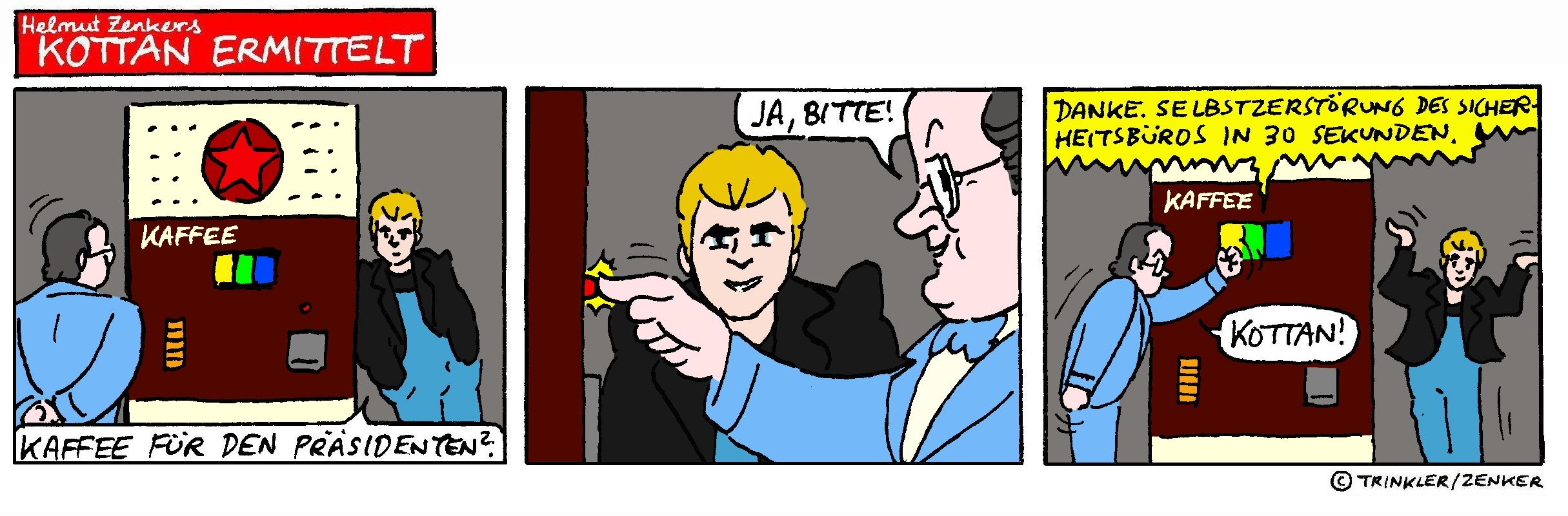 Kottan ermittelt - Comicstrip Nr. 13