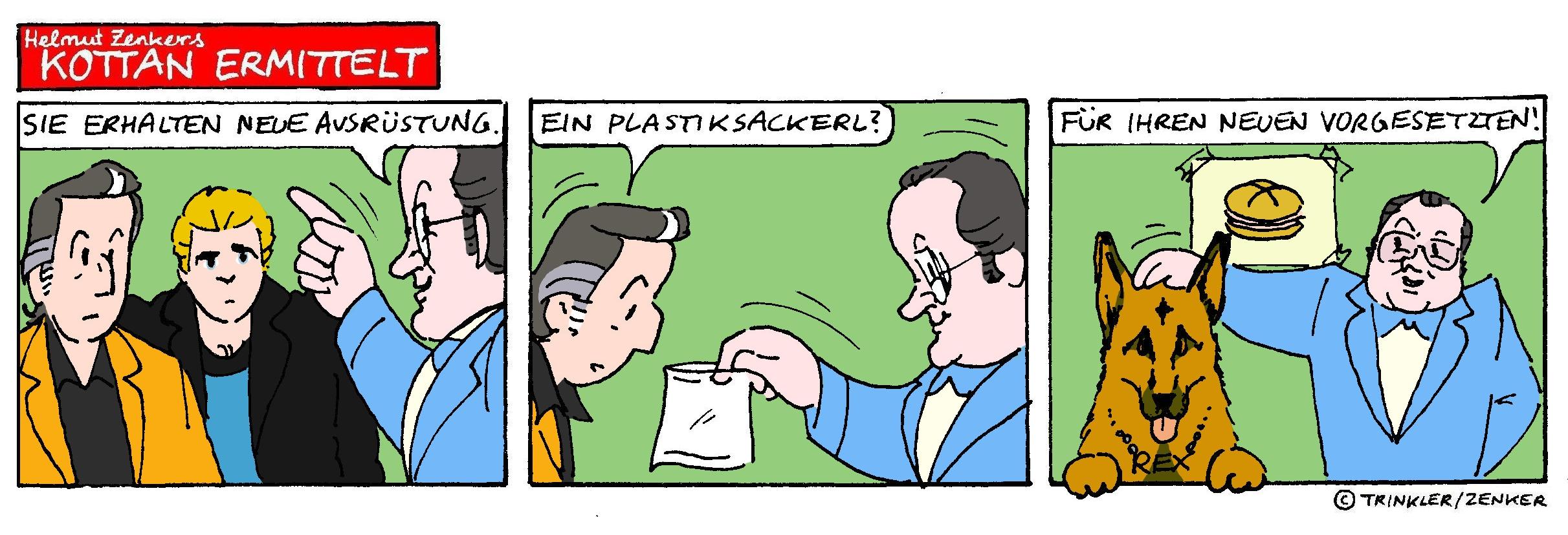 Kottan ermittelt - Comicstrip Nr. 21