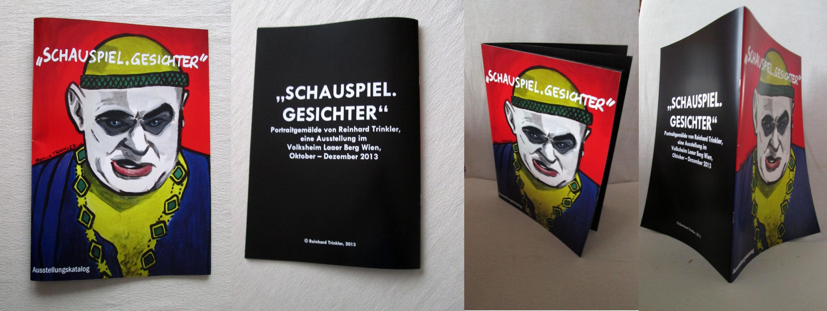 Ausstellungskatalog SCHAUSPIEL.GESICHTER