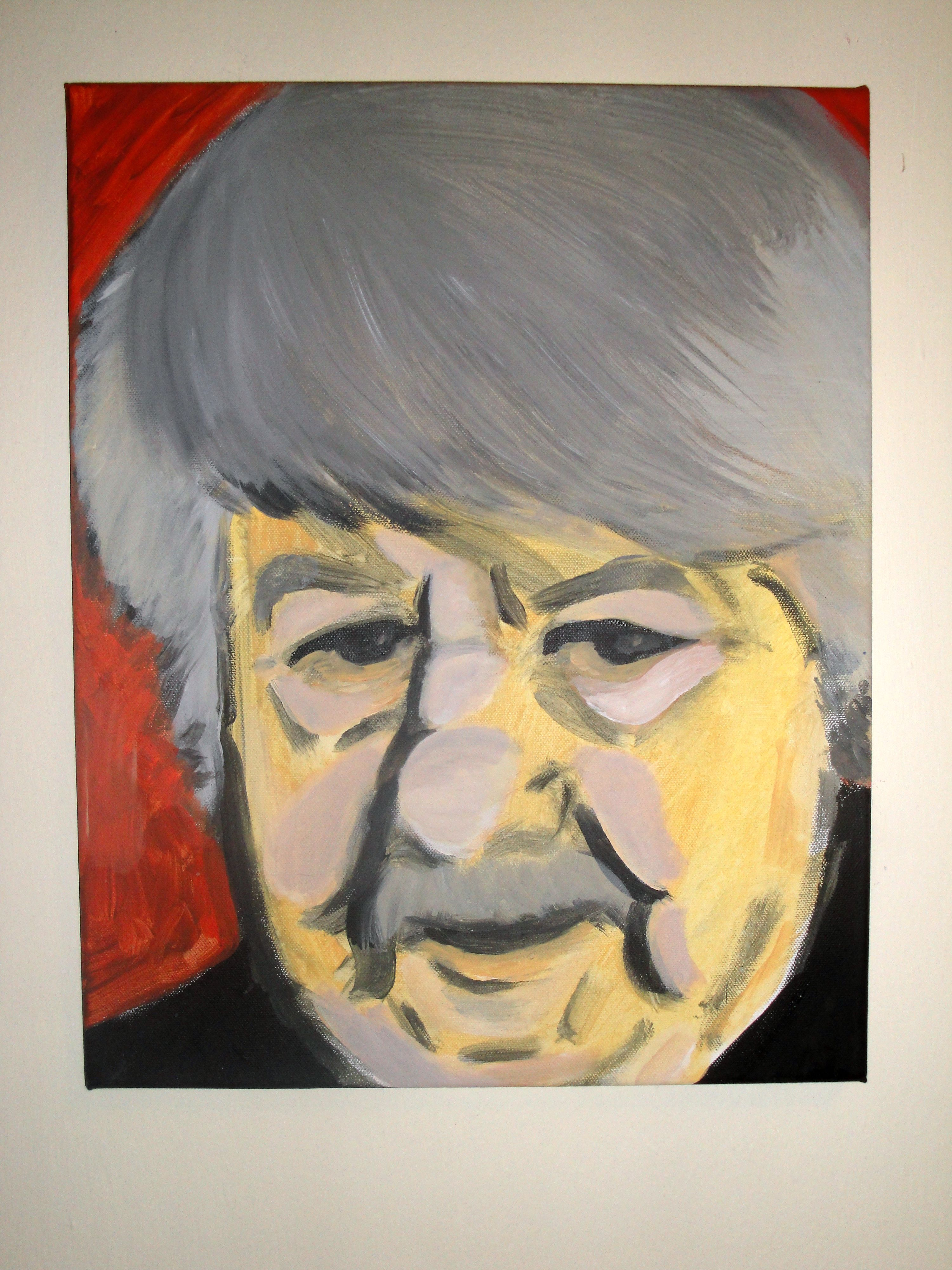 Heinz Petters / Portrait des Malers Reinhard Trinkler
