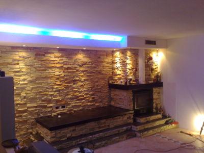 pareti attrezzate con camino : La Parete Attrezzata Con Camino Valorizzare Il Fireplace Unadonna ...