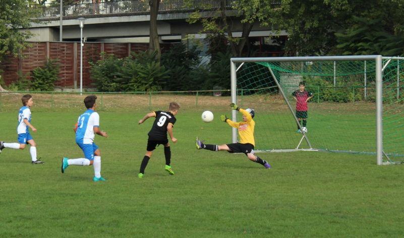 Tolle Torhüterleistung beim Spiel Liberta gegen Berliner SC. Der Ball ging nicht ins Tor!