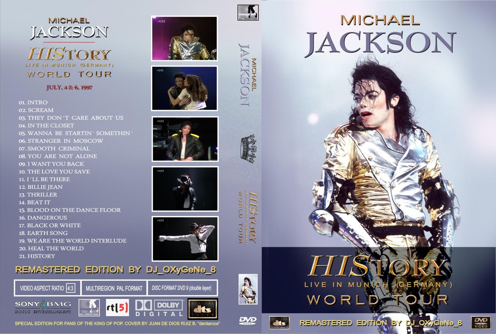 Michael Jackson History Tour Blu Ray