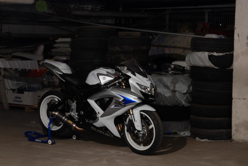Saison 2010 Yamaha R6