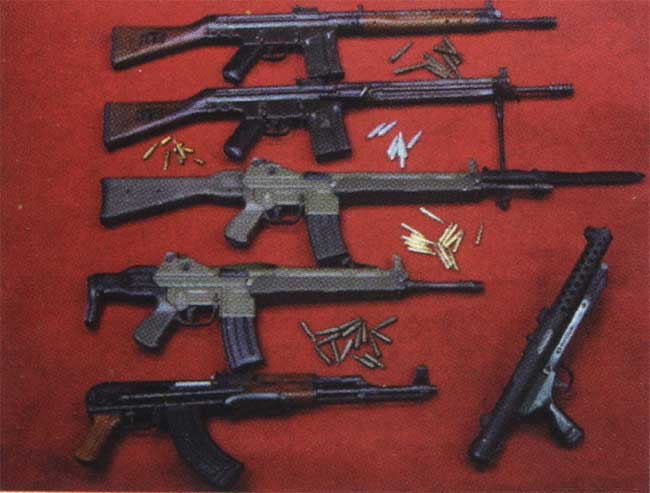Asesinos terrorismo y m s armas utilizadas por for Muebles para guardar armas de fuego