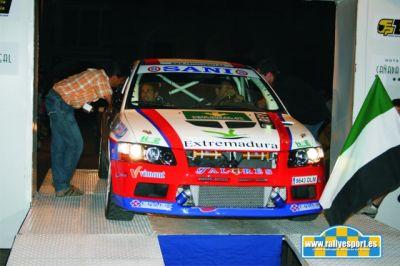 Rally de vapor de la vendimia 2009