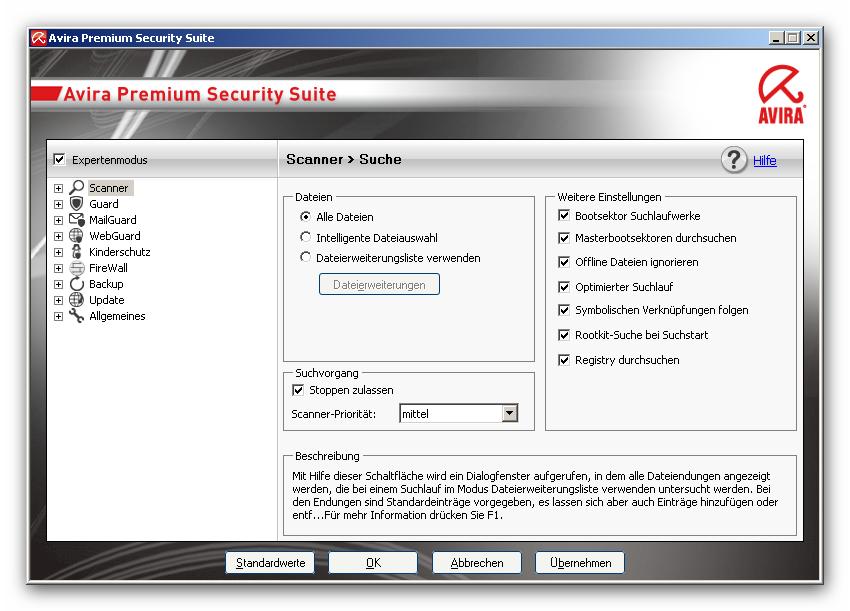 Скачать антивирус: Avira AntiVir Personal 10.0.0.67! Минимум - Pentium 266