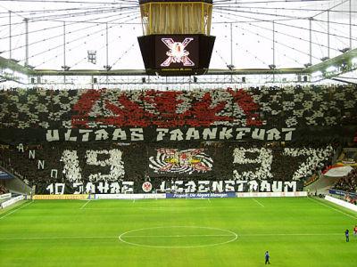 football scarves germany eintracht frankfurt. Black Bedroom Furniture Sets. Home Design Ideas