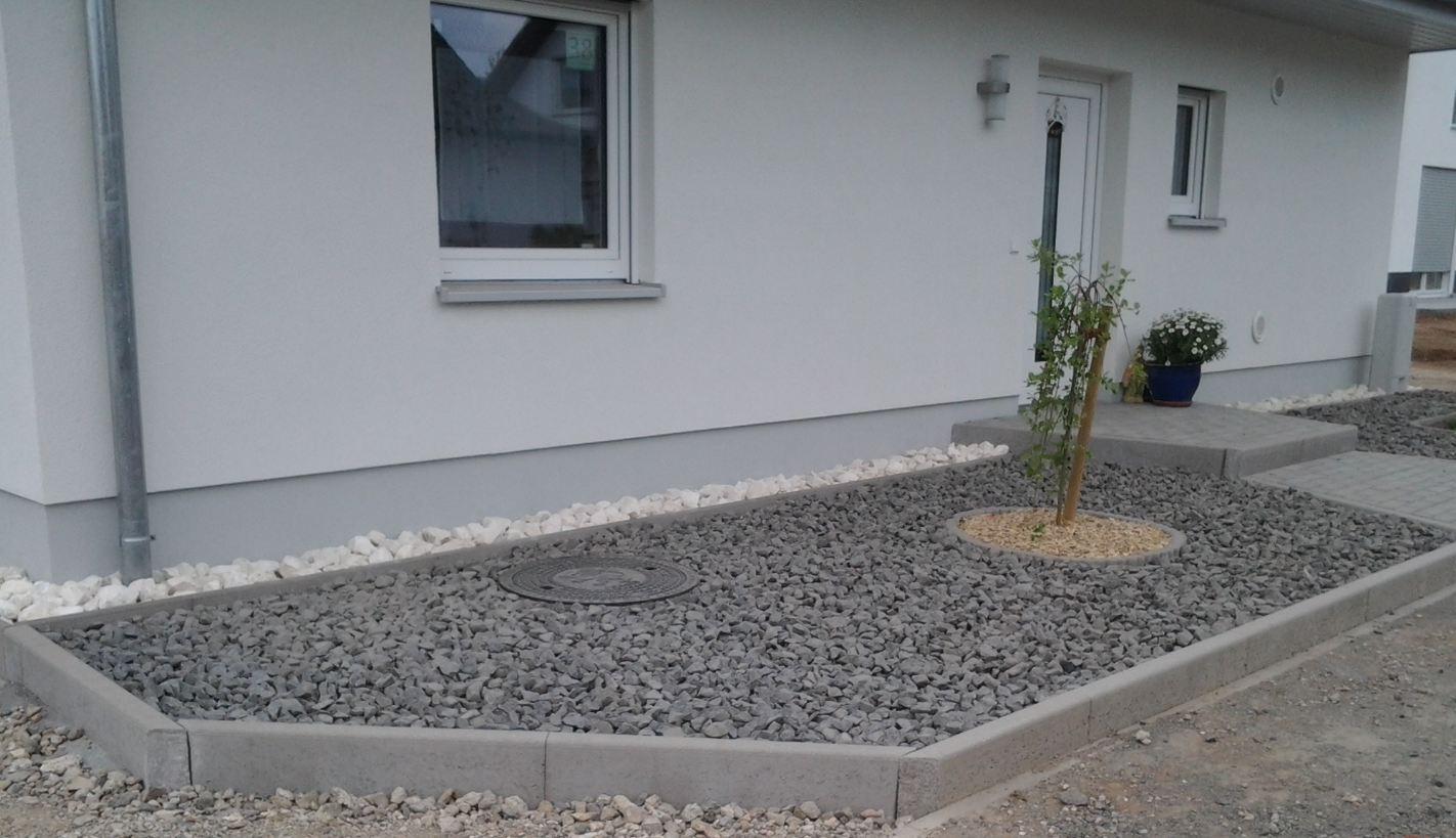 bilder steingarten vor dem haus – nomadx, Gartenarbeit ideen