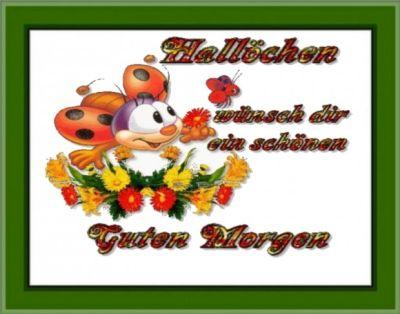 SCHLUMPFLIESELS-BILDER* - GUTEN MORGEN Halloween