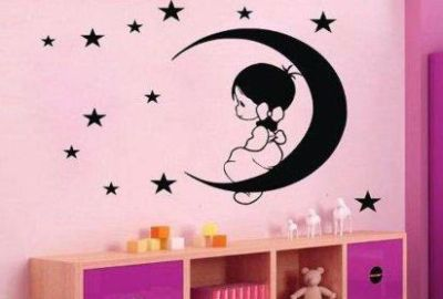 Fantasy deco vinilos decorativos cuarto ni as for Vinilo para habitacion de nina