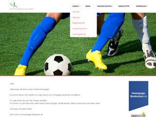 Vorschaubild Template für deinen Fussball Verein